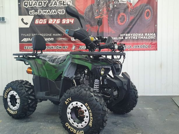 Quady Quad XTR 125 BIGHORN FIRESHOT Extreme Nowy Model Ride