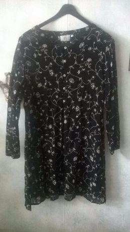 Узорчастая летняя туника, легкий кардиган, кимоно, блуза Италия