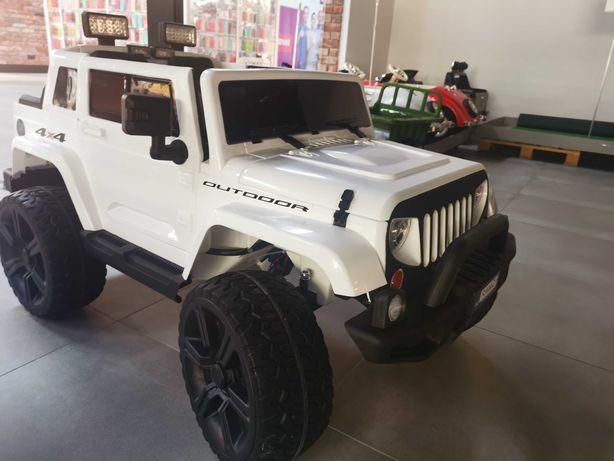 Jeep Mighty 4x4 autka auto autko samochód na akumulator zabawki