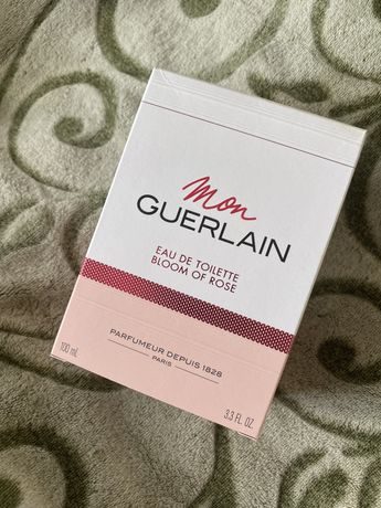Туалетная вода Mon Guerlain Bloom of rose / Мон Герлен