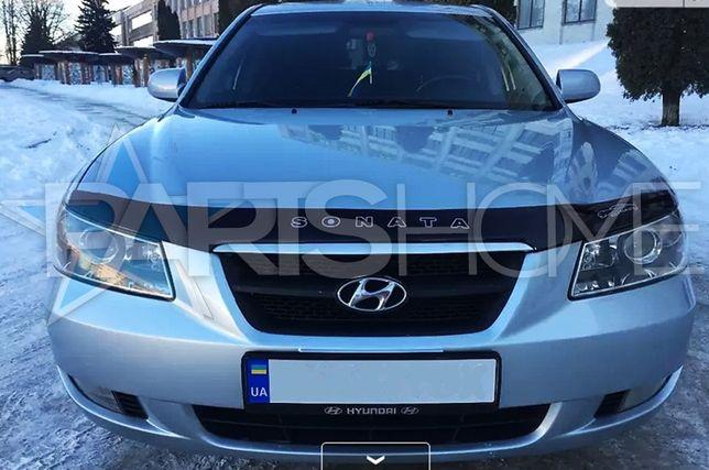 Дефлектор капота мухобойка Hyundai Sonata NF YF В наличии. Новые.