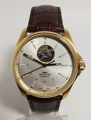 Новые Glycine Combat Classic Automatic Silver Dial Men's Watch GL0121