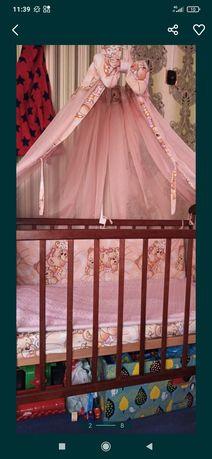 Кровать, постельное, велосипед, ванна, горшок, 2 матраса за 3300грн.