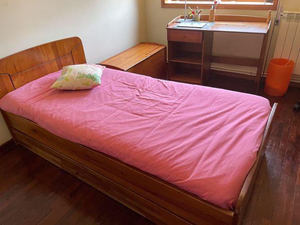 Mobília de quarto de jovem