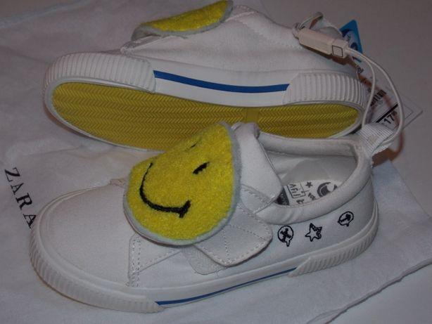 Кеды Zara 26 зара туфли тапочки кроссовки еспадрільї обувь в сад next