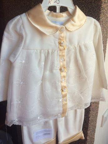 Костюм для ребенка(нарядный, для крещения)