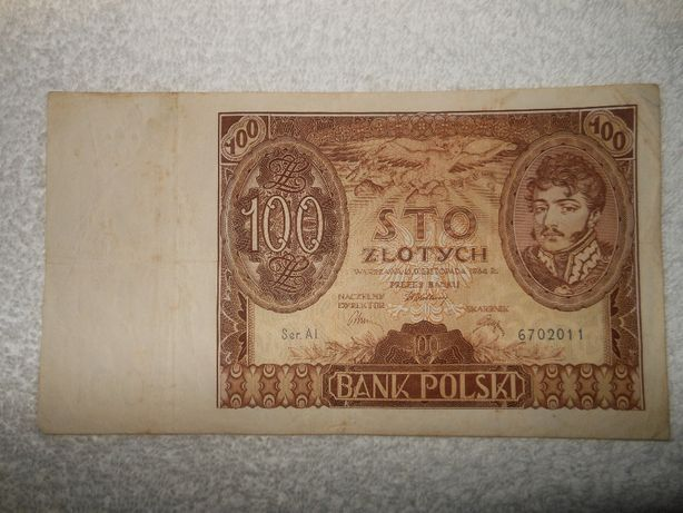 Kilka ciekawych banknotów.