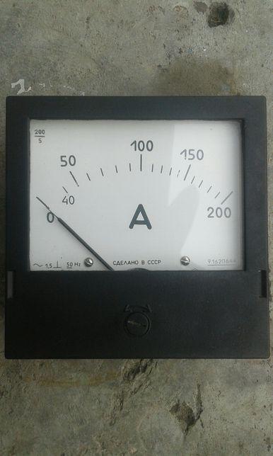 Амперметр 200А