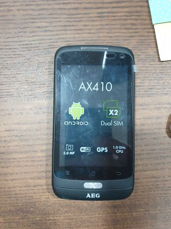 Smartphone AEG - AX410 - NOVO