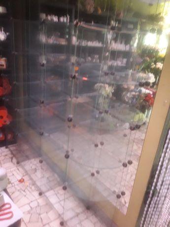 Półka sklepowa szklana