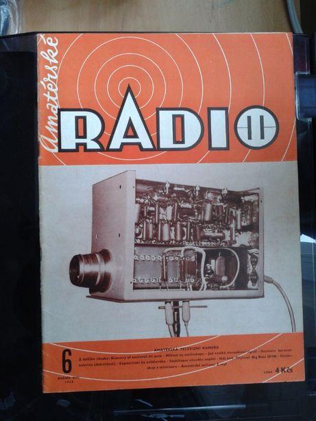 Miesięcznik Amaterske Radio roczniki 73-75