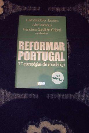 Livros -vários: Reformar Portugal...