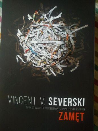 Zamęt Vincent V Severski-zestaw 2szt-gratis książka wywiad z Severskim