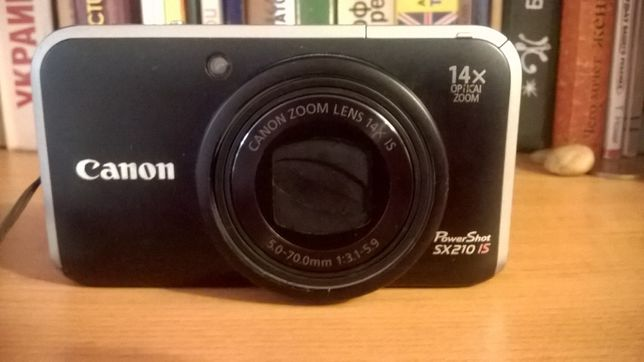 Canon PowerShot SX210 IS made in Japan японец