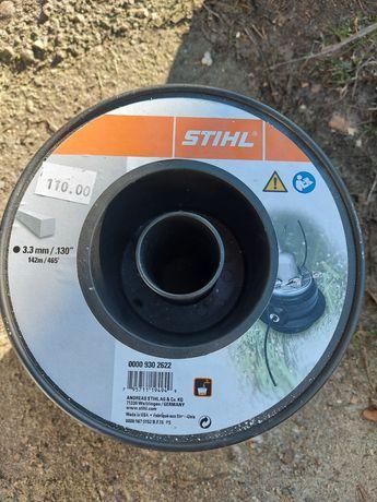 Żyłka do Stihl 3.3mm czarna mocna 145m