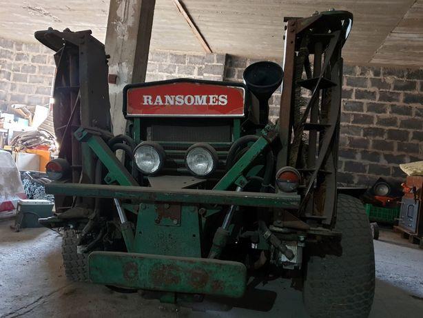 Kosiarka traktorek RANSOMES 2,5 m-szer. koszenia