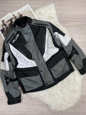 Фирменная текстильная мото куртка мотокуртка Plus Racing