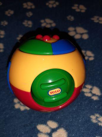 Розвиваюча іграшка Шар-пазл,  Погремушка Tolo
