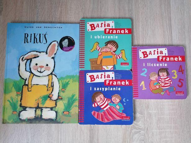3 Książeczki Basia i Franek, GRATIS Rikuś