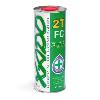 Масло ХАДО 2Т/4Т для МОТО - техники. XADO 10W-40 4Т, 10W-60 4Т...