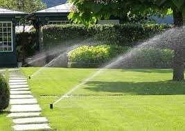 Nawodnienia w ogrodzie, linie kroplujące, zraszacze, Rain Bird,