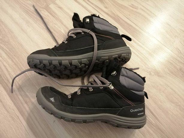 Quechua wodoodporne buty zimowe dla chłopca 36
