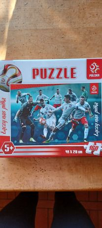 Puzzle łączy nas piłka Polska