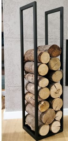 Stojak na drewno metalowy na wymiar