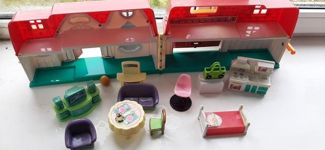 Кукольный домик для младших девочек