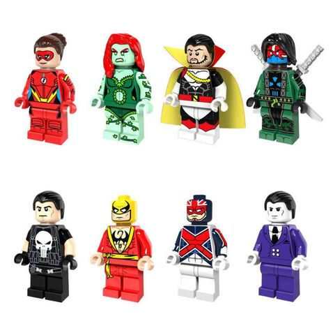 Bonecos minifiguras Super Heróis nº78 Marvel / DC Comic (compat. lego)