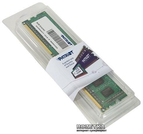 Оперативная память Patriot DDR3-1600 4096MB PC3-12800