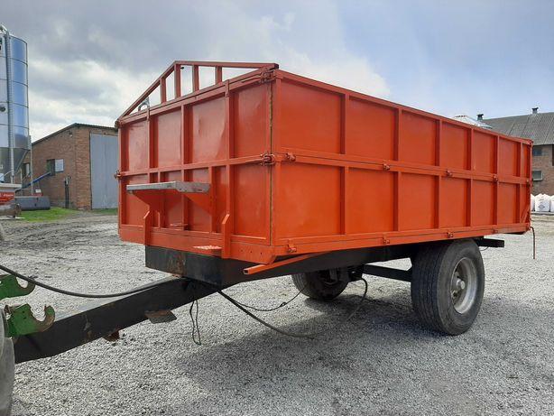 Przyczepa wywrotka wywrot wózek 10 ton
