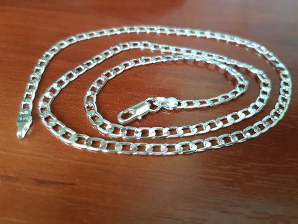Мужская цепочка серебро