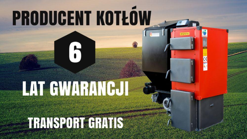 KOTŁY do 60 m2 Piec 10 kW z PODAJNIKIEM na EKOGROSZEK Kocioł 8 9 10 Łosice - image 1