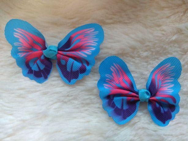 Spinki motyle, motylki, spineczki do włosów, ozdoby, akcesoria włosy