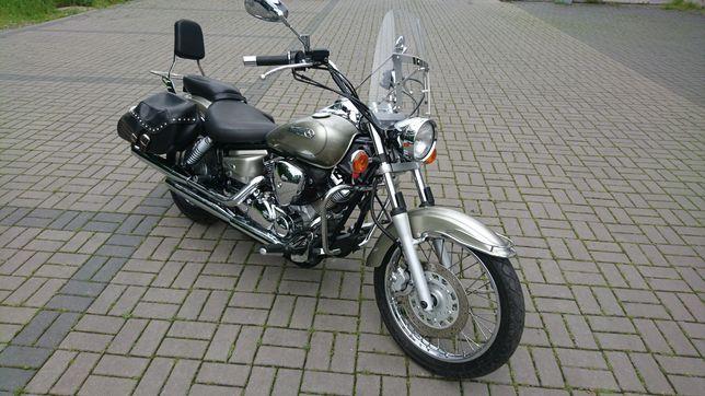 Yamaha xvs 125 drag star ,shadow na kat.B ,raty