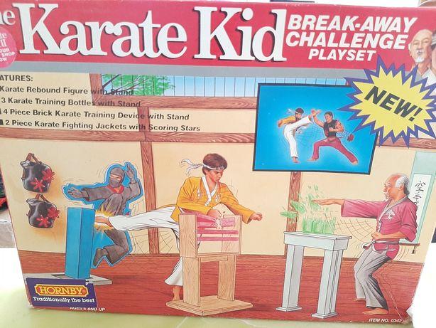 Karate Kid break-away challenge playset da Remco anos 80 com caixa