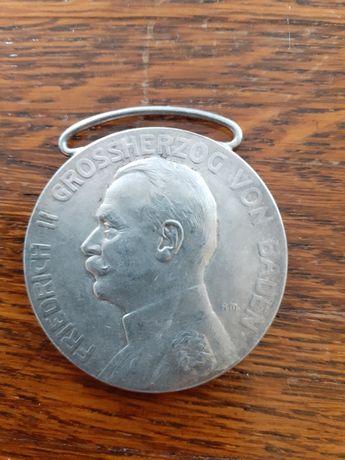 Srebrny medal Fridrich ll  Grossherzog von Baden