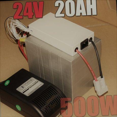 Батарея для электровелосипеда мощная, литиевый аккумулятор