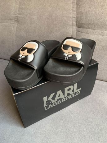 Nowe Klapki Damskie Karl Lagerfeld