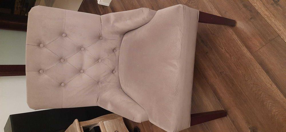 Krzesło krzesła fotel fotele 3 szt jak nowe !!! Okazja Warszawa - image 1