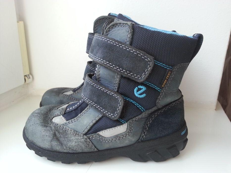 Кожаные термо сапожки ботинки на мальчика Ессо 26р. Ровно - изображение 1
