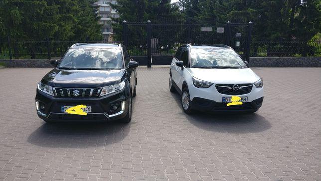 Оренда двох нових автомобілів для урочистих подій