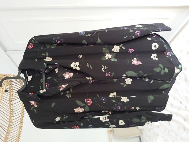 Koszula w kwiaty hm