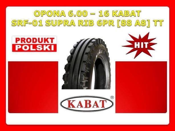 POLSKA Opona 6.00 - 16 KABAT SRF-01 6PR Nowa 600 16 Ursus C-330 C-360