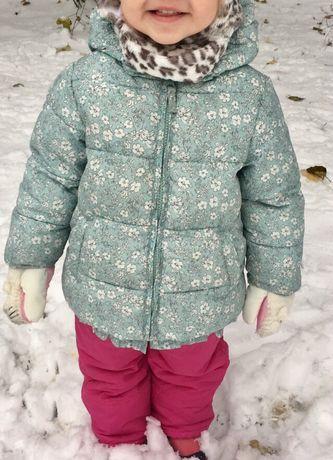 Курточка Next + комбенизон на девочку 1,5-2 года