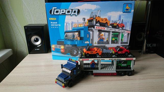 Lego Лего фура автовоз лавета