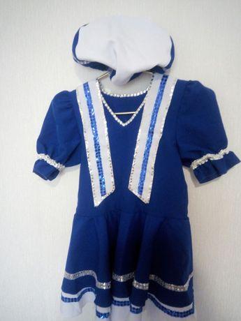 Платье танцевальное морячки
