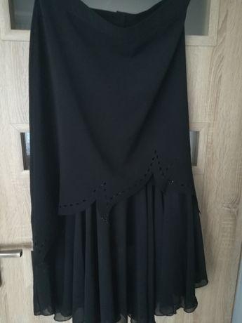 Spódnica czarna długa