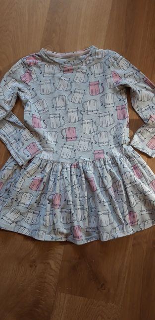 Sukienka dla dziewczynki F&F r.122 cm, 6/7 lat